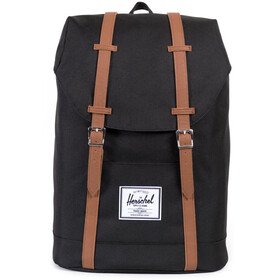 Herschel Retreat Selkäreppu 19,5l, black/tan